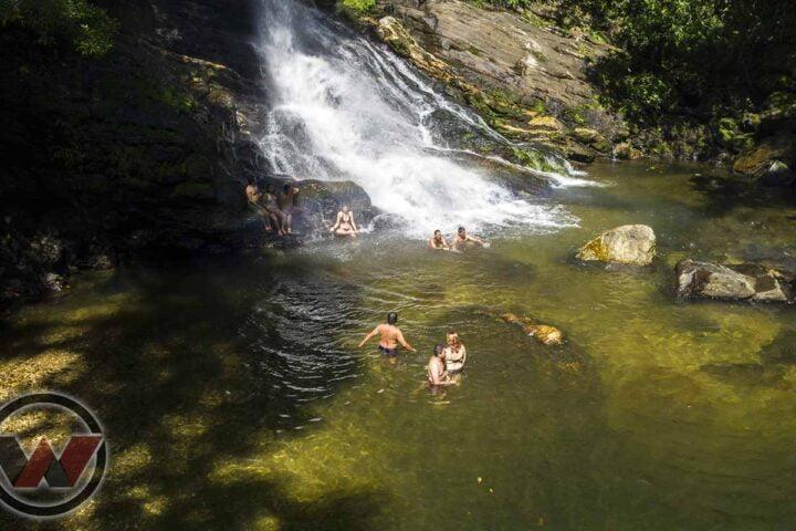 chute d'eau de la ville perdue wiwa