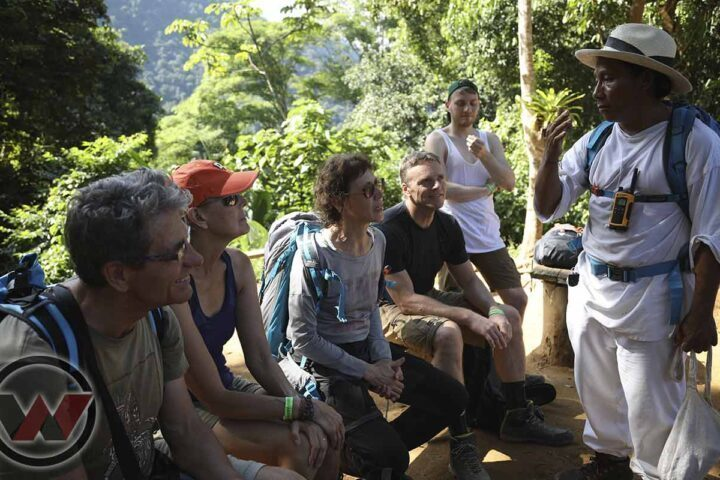 tour with indigenous guide wiwa