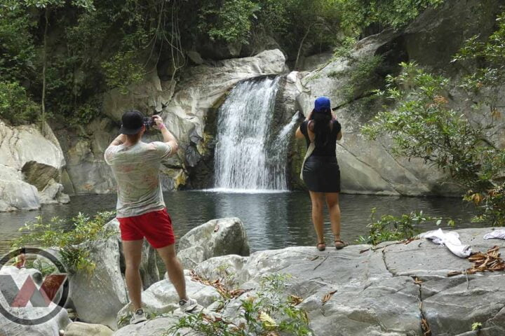 the best waterfall in santa marta
