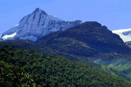 The Sierra Nevada de Santa Marta