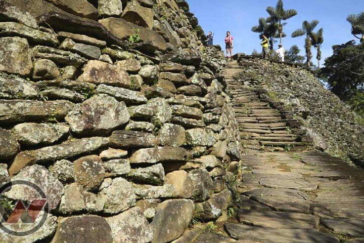 ruinas arqueologicas de ciudad perdida