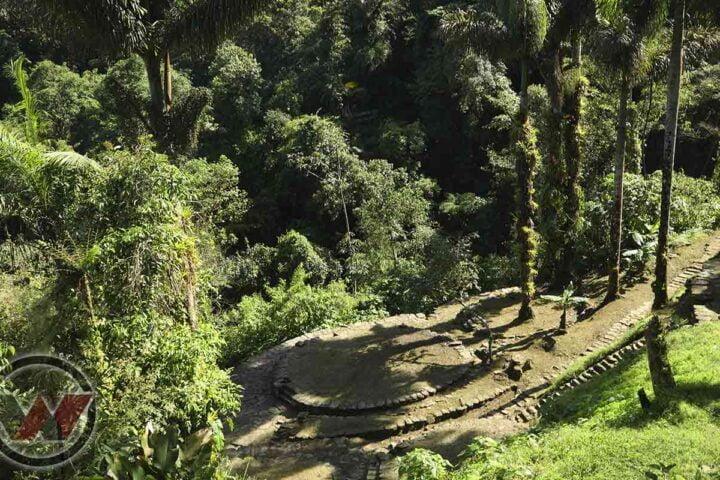 Tayronas terraces lost city