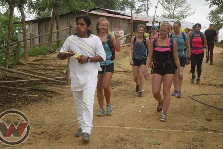 trek con guias indigenas ciudad perdida
