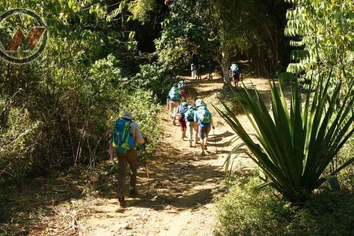 trekking to the lost city of Tayrona