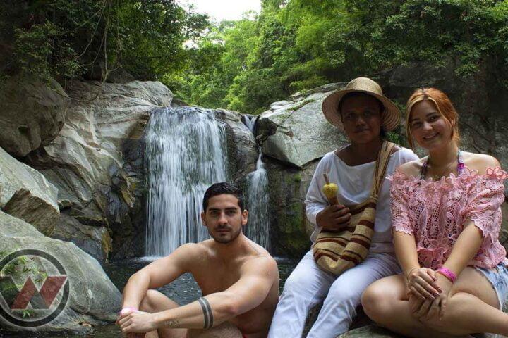 indigenous tourism matuna waterfall