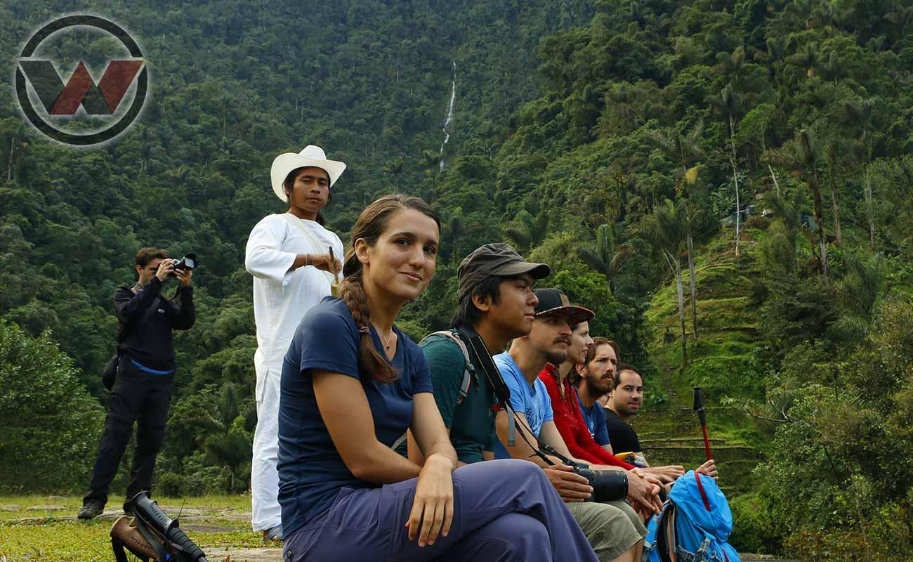 viaje a ciudad perdida guias indigenas