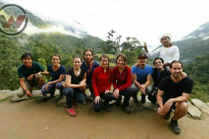 hikers in lost city