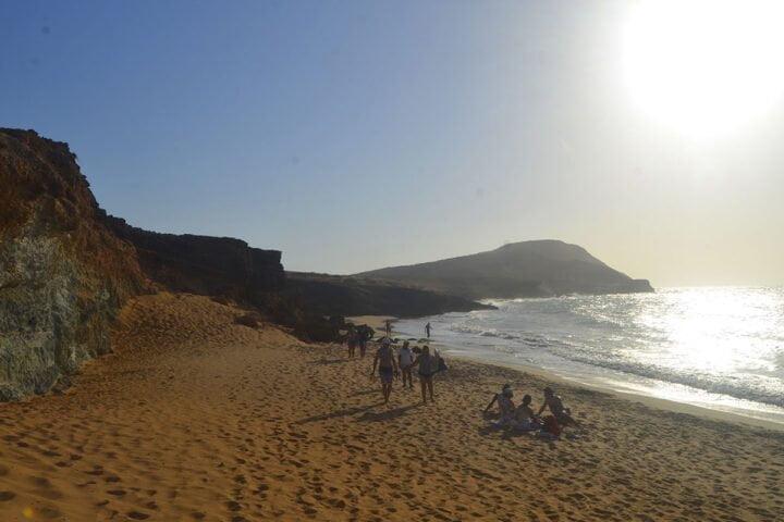 beach cabo de la vela guajira
