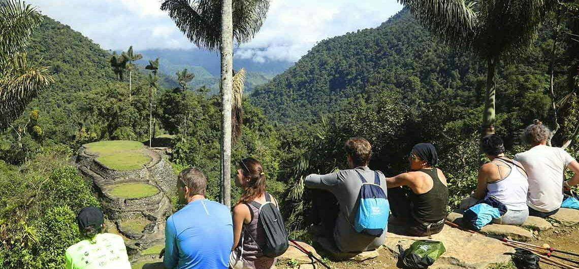 how to get to the lost city of colombia