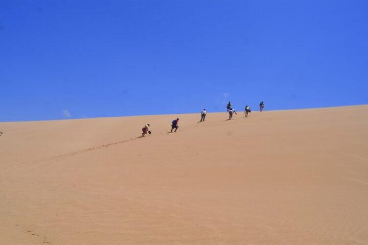dunes of taroa punta gallinas
