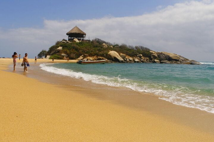 the best beach in santa marta cabo san juan